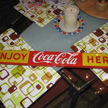 Coca Cola Door Push