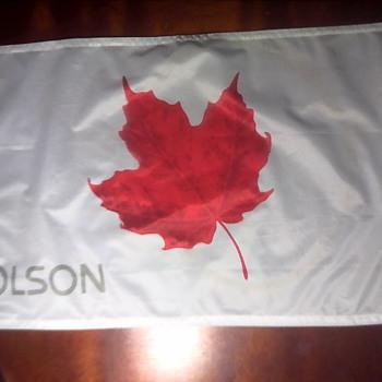 Molson Canadian Golf Flag