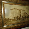 A True Antique...Oak Framed Family Photograph...1800's