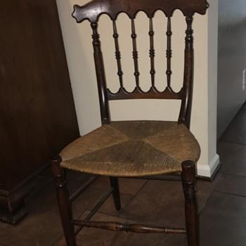 Carolina chair, rush bottom