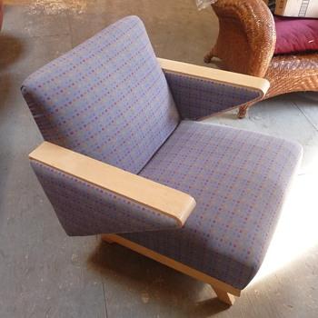 Atomic Mid Century Modern Rocker - Furniture