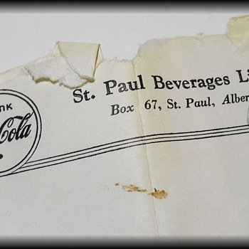 1967 Coke Letter ( with a 1967 Canadian Stamp ) - Coca-Cola