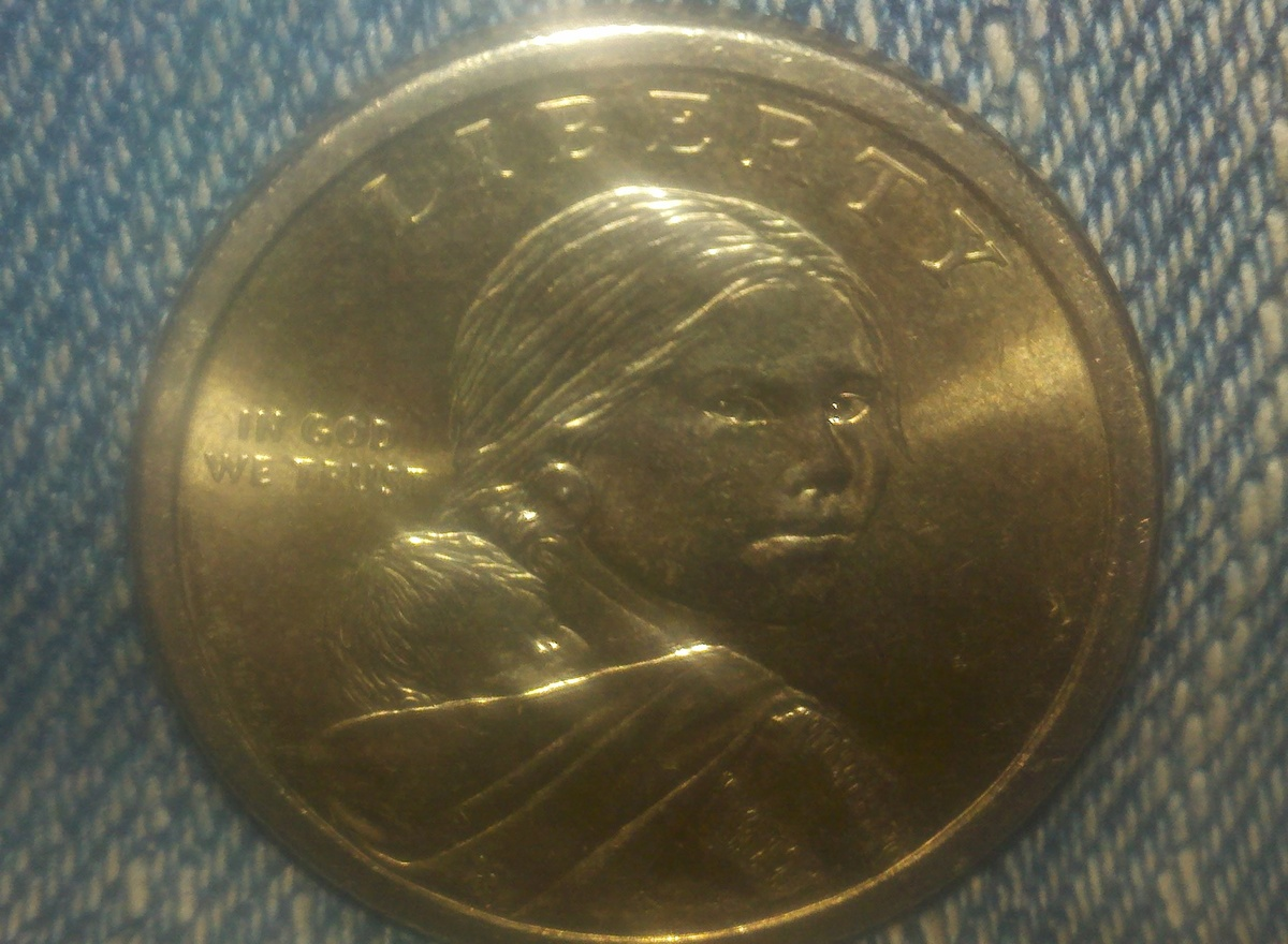 Liberty one dollar good coin, no date stamp | Collectors Weekly