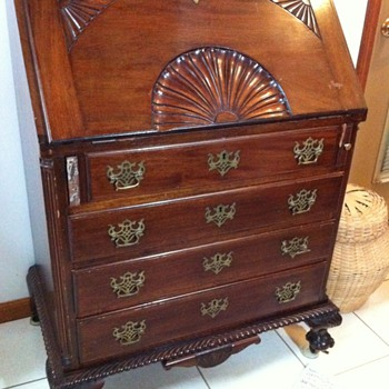Antique Secretary - Furniture