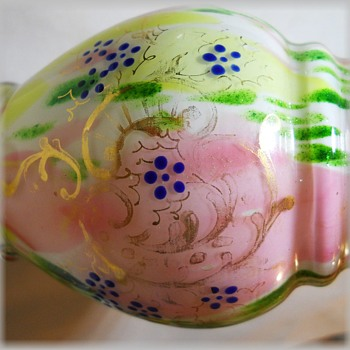 Bohemian Art Glass Vase - WELZ ?? ( Post B of Two ) - Art Glass