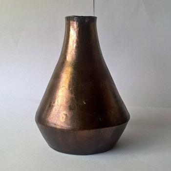 Bronze Glazed Vase - Pottery