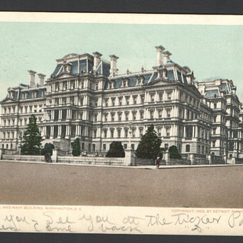 State, War, and Navy Building. Washington D.C. - Postcards