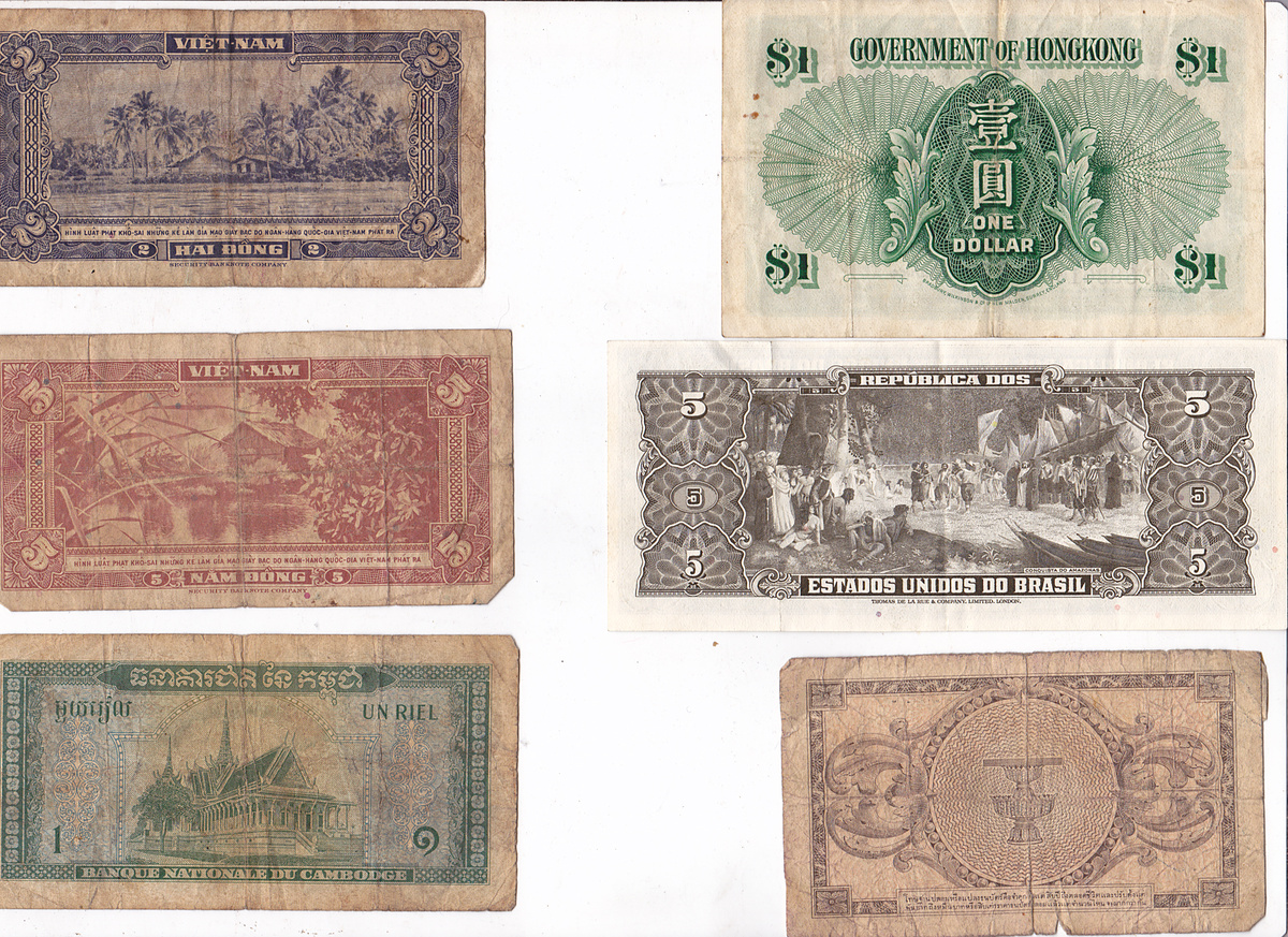 collection of Paper money my dad gave me   Collectors Weekly