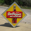 "1940's Dr Pepper Tin 45"" by 45"""