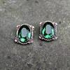 Vintage Unsigned Reja Sterling Earrings 1940's