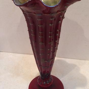 Beautiful  Art Glass Vase - Art Glass