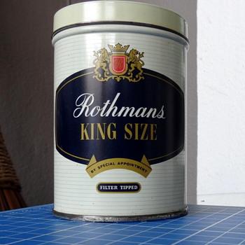 Rothmans (50) presentation tin. - Tobacciana
