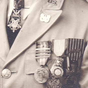 WWI Medal of Honor Recipient Photograph c. 1930s