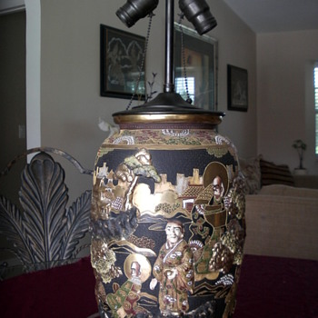 Antique Oriental Lamp - Lamps