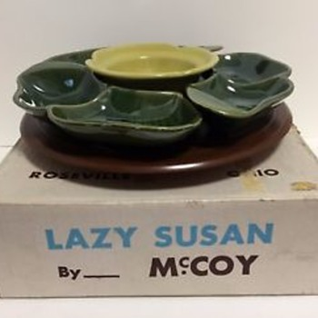 Lazy Susans By McCoy Pottery - Pottery