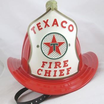 Texaco Fire Chief Hat