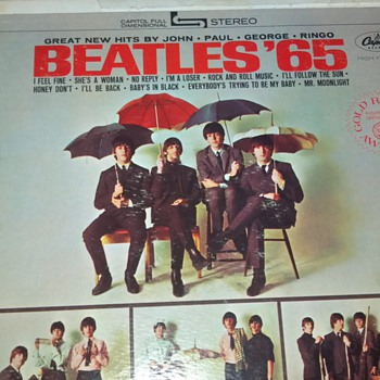 Beatles '65 Vinyl Record - Records