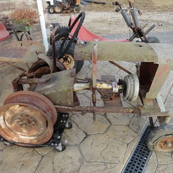 Very Old Copar Panzer Garden Tractor - Tractors