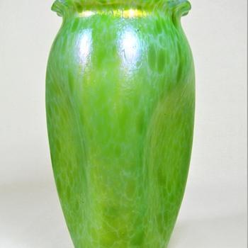 Loetz Ozone Cisele vase ca. 1899  - Art Glass