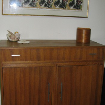 Teak Office Bar - Furniture