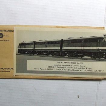 Missouri Pacific Railroad Public Relations Locomotive Photographs - Railroadiana
