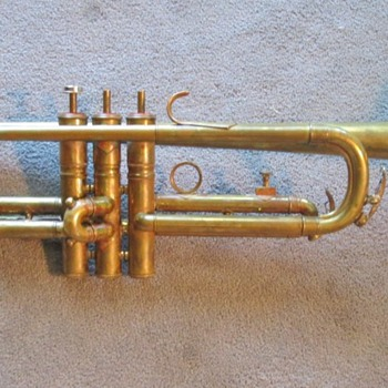 Antique German Trumpet - Music Memorabilia
