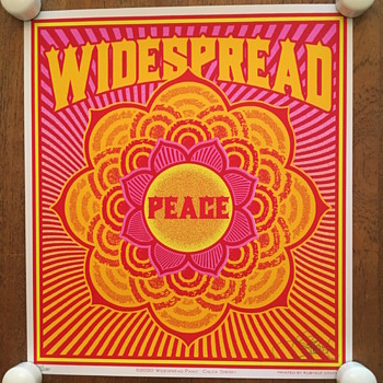 Widespread Peace poster by Chuck Sperry, 2020 - Fine Art