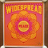 Widespread Peace poster by Chuck Sperry, 2020