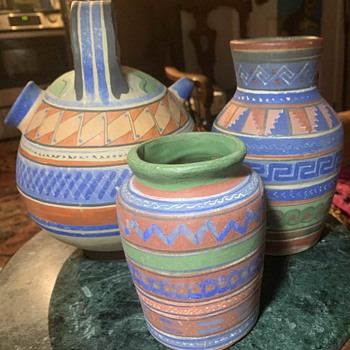 Growing Collection of Aztec / Mayan Revival Pottery from Tlalpequeque, Mexico - Pottery