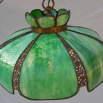 My Favorite Green Hanging Lamp - Lamps