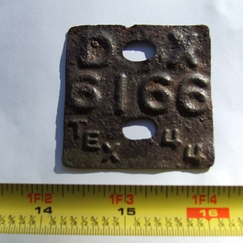 Another Mystery Metal Detector Find  - Signs