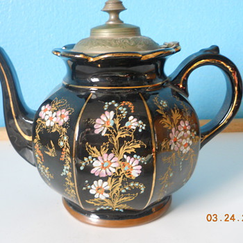 Tea Pot Treasure - Alexandra Pottery Burslem 1895 Manning Bowman no. 36 - Kitchen