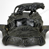 Cast Iron Black Panther Ashtray