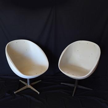 Walt Disney World Vtg. Contemporary Hotel Mid-Century Modern Chairs - Furniture