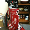 COCA COLA GOLF BAG
