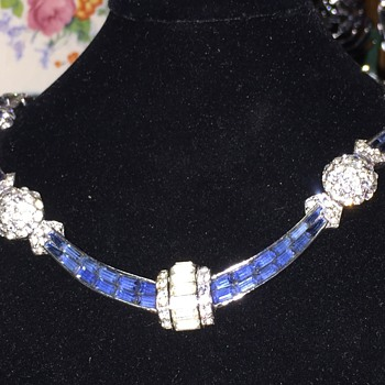 Vintage Boucher Necklace - Costume Jewelry