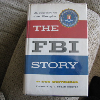 Autographed Book F.B.I Story J. Edgar Hoover - Books