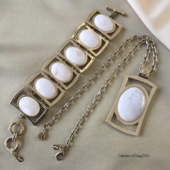 Vintage Myka Design Inc. — Pendant and Bracelet - Costume Jewelry