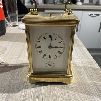 Hour Lavinge Carriage Clock?  - Clocks