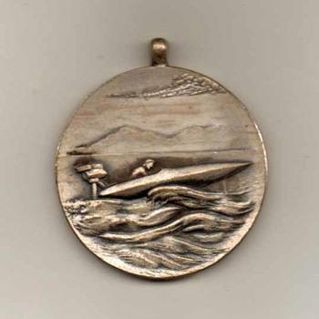 1950-51 - Far East Outboard Club Pendant - Japan