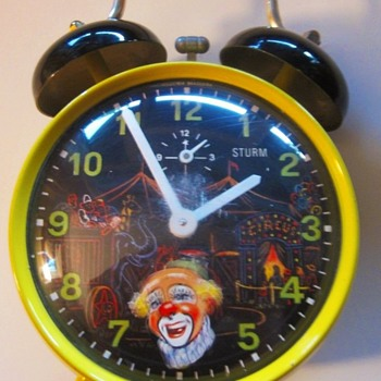 For Celiene ..... Animated Circus Clown Alarm Clock