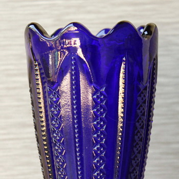 Fenton Glass Vase or Not Fenton??? - Art Glass