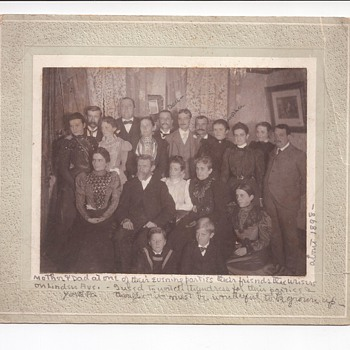 My GreatGrandmother Wrote This  - Photographs