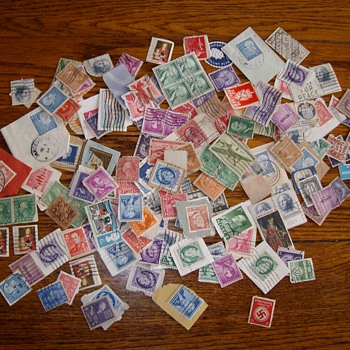 A Sampling Of U.S. Postage Stamps From the 1930's - Late 1940's - Stamps