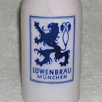 Lowenbrau Stoneware Stein - Breweriana