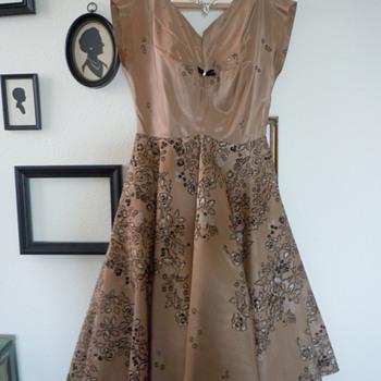 1950's Taffeta Party Dress