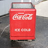Vintage 1930's style cooler, very good condition, minimal rust