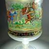 Handpainted enameled cup from Venezia