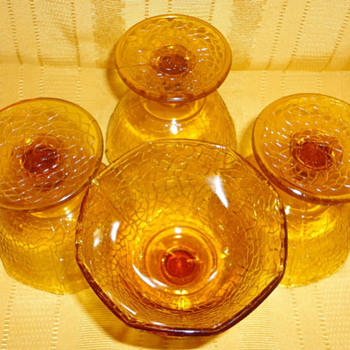 Sherbet dishes by L.E Smith - Glassware