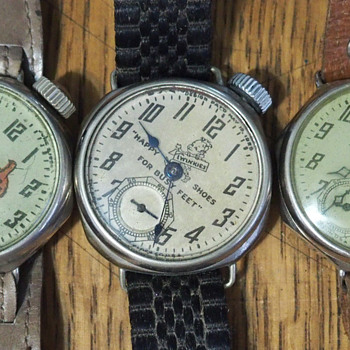 1920s New Haven Advertising Watches - Advertising